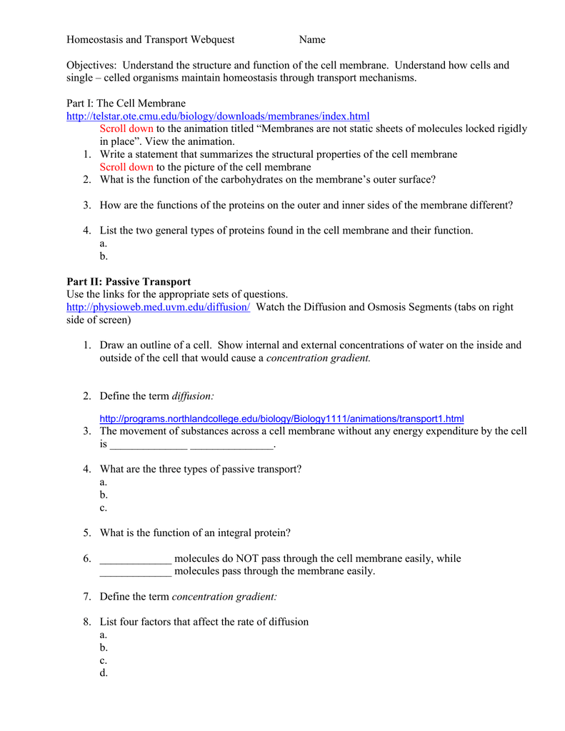 worksheet Homeostasis And Transport Worksheet 010267126 1 2c2a4feae0e5e7e51ebae6e859ef6d95 png