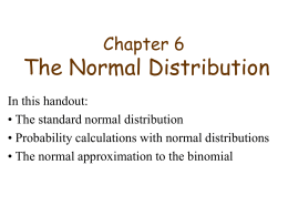 Chapter6, Sections 3, 4 and 5