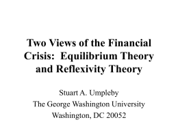 How Reflexivity Theory is Different from Current Theories