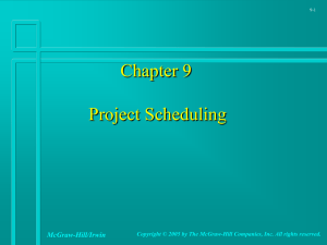 projectscheduling