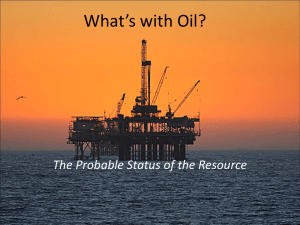 What's With Oil? (powerpoint)