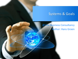 Systems & Goals