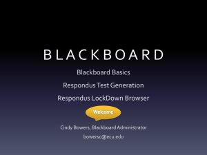 blackboard - ECU Blogs