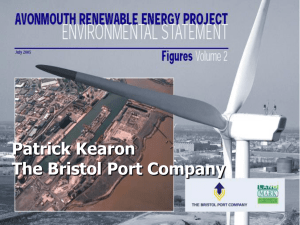 The Bristol Port Company Wind Turbines