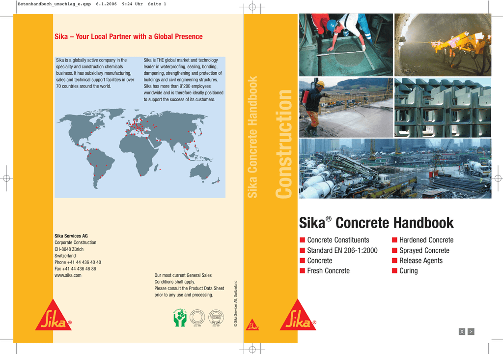 Sika – Your Local Partner with a Global Presence