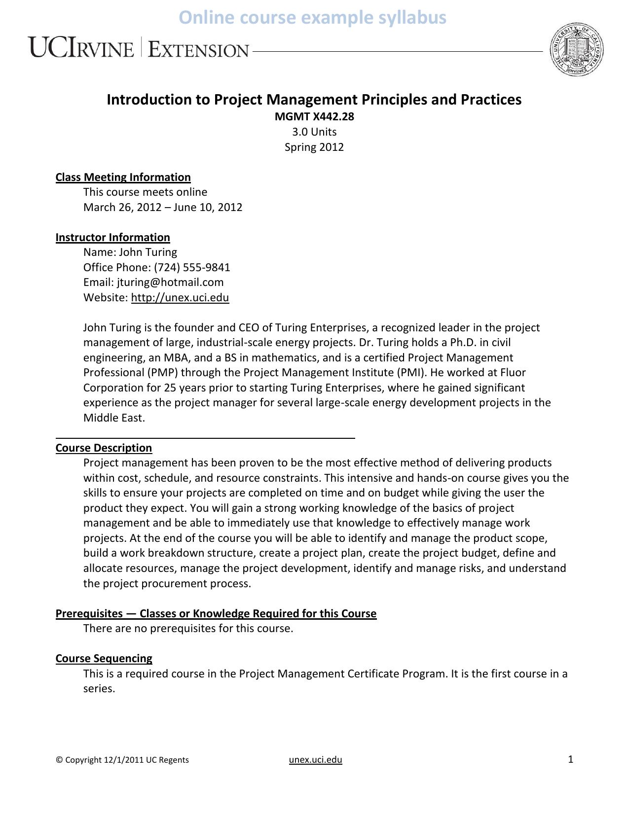 Uci Management Certificate Best Design Sertificate 2018