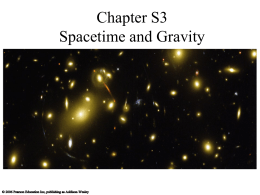 Chapter S3 Spacetime and Gravity