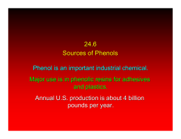 24.6 Sources of Phenols