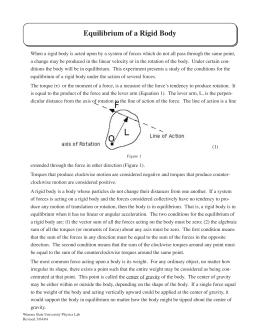 An Experiment on Static Equilibrium | Jameson Austria ...