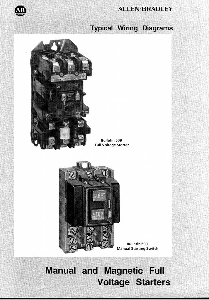 Allen Bradley Motor Starter Wiring Diagram from s2.studylib.net