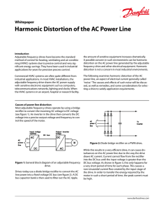 Harmonic Distortion of the AC Power Line Whitepaper