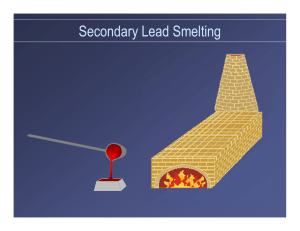 Secondary Lead Smelting
