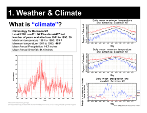 "1. Weather & Climate What is ? ""climate"""