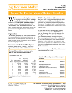 W Income Tax Considerations of Business Transfers C4-81 December 2007