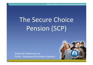 National Conference on Public Employee Retirement Systems