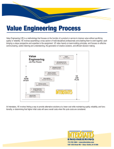 Value Engineering Process
