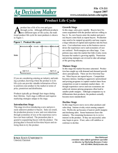 A Product Life Cycle File  C5-211 August 2007