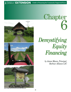 6 Chapter Demystifying Equity