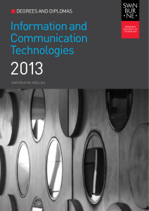 2013 Information and Communication Technologies