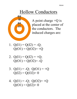 Hollow Conductors