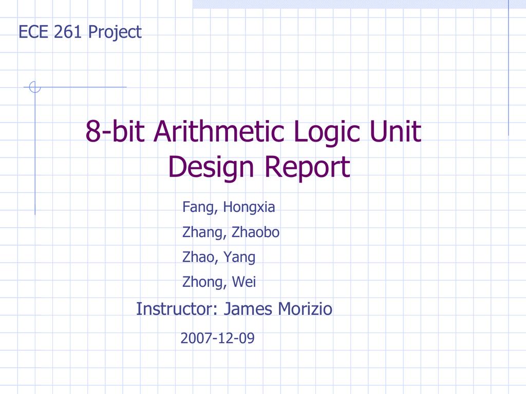 8 Bit Alu Logic Diagram Wiring Library Of