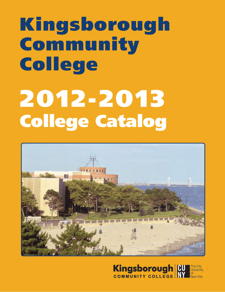 2 0 1 2 2 0 1 3 Kingsborough Community College