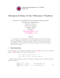Reciprocal Sums of the Tribonacci Numbers