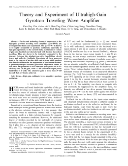 Theory and Experiment of Ultrahigh-Gain Gyrotron Traveling Wave Amplifier