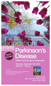 education Parkinson's Disease public