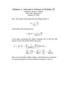 Midterm 1, Alternative Solution to Problem 20