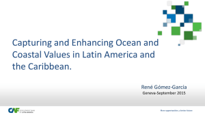 Capturing and Enhancing Ocean and Coastal Values in Latin America and