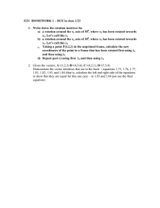 3221  HOMEWORK 1 – DUE in class 1/23