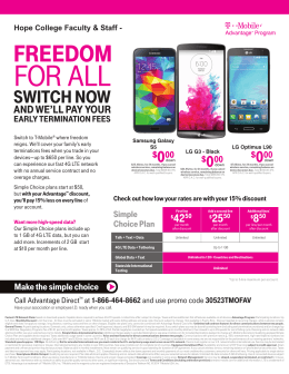 T Mobile Discount Form