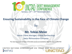 by Mr. Tobias Meier Ensuring Sustainability in the Face of Climate Change