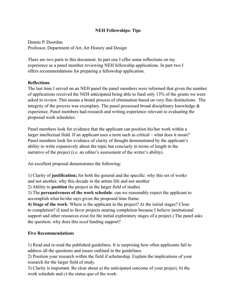 Department Of Art History And Design There Are Two Parts To This Document In Part One I Offer Some Reflections On My Experience As