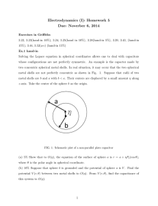 Electrodynamics (I): Homework 5 Due: Noverber 6, 2014
