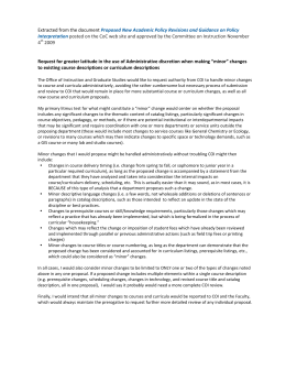 Conflict of interest management plan template proposed new academic policy revisions and guidance on policy interpretation 4 pronofoot35fo Images