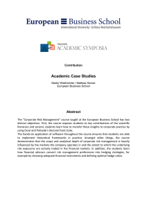 Academic Case Studies  Abstract