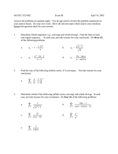MATH 1352-H02 Exam III April 16, 2002