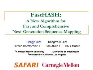 FastHASH:  A New Algorithm for Fast and Comprehensive