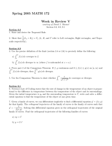 Spring 2005 MATH 172 Week in Review V