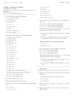 Chapter 7 Page 1 Chapter 7 Homework Problems