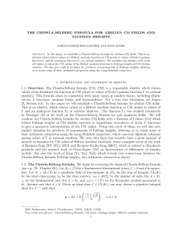 THE CHOWLA-SELBERG FORMULA FOR ABELIAN CM FIELDS AND FALTINGS HEIGHTS