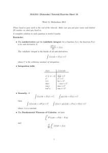 MA1S11 (Dotsenko) Tutorial/Exercise Sheet 10 Week 12, Michaelmas 2013
