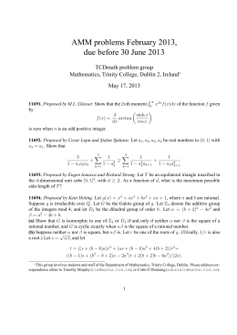 Pre Algebra Worksheets With Answer Key  Categorizing Num In Subsets Of Reals Worksheet  Word Compound Subject And Predicate Worksheets Pdf with Direct And Inverse Proportion Worksheet Amm Problems February  Due Before  June  Tcdmath Problem Group Changing The Subject Of A Formula Worksheet Pdf