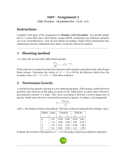 M Sc  in High Performance Computing        C programming