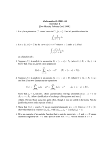 Mathematics 414 2003–04 Exercises 4 [Due Monday February 2nd, 2004.]
