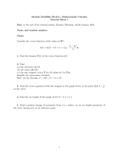 Module MA2E02 (Frolov), Multivariable Calculus Tutorial Sheet 1