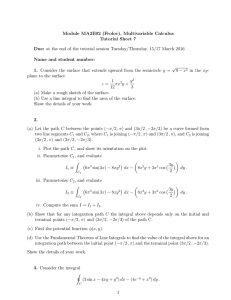 Module MA2E02 (Frolov), Multivariable Calculus Tutorial Sheet 7