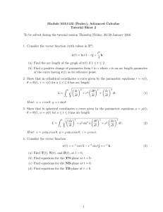 Module MA1132 (Frolov), Advanced Calculus Tutorial Sheet 2